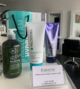 PAUL MITCHELL HAIR PRODUCTS ESENTIA HAIR SALON LIVERPOOL