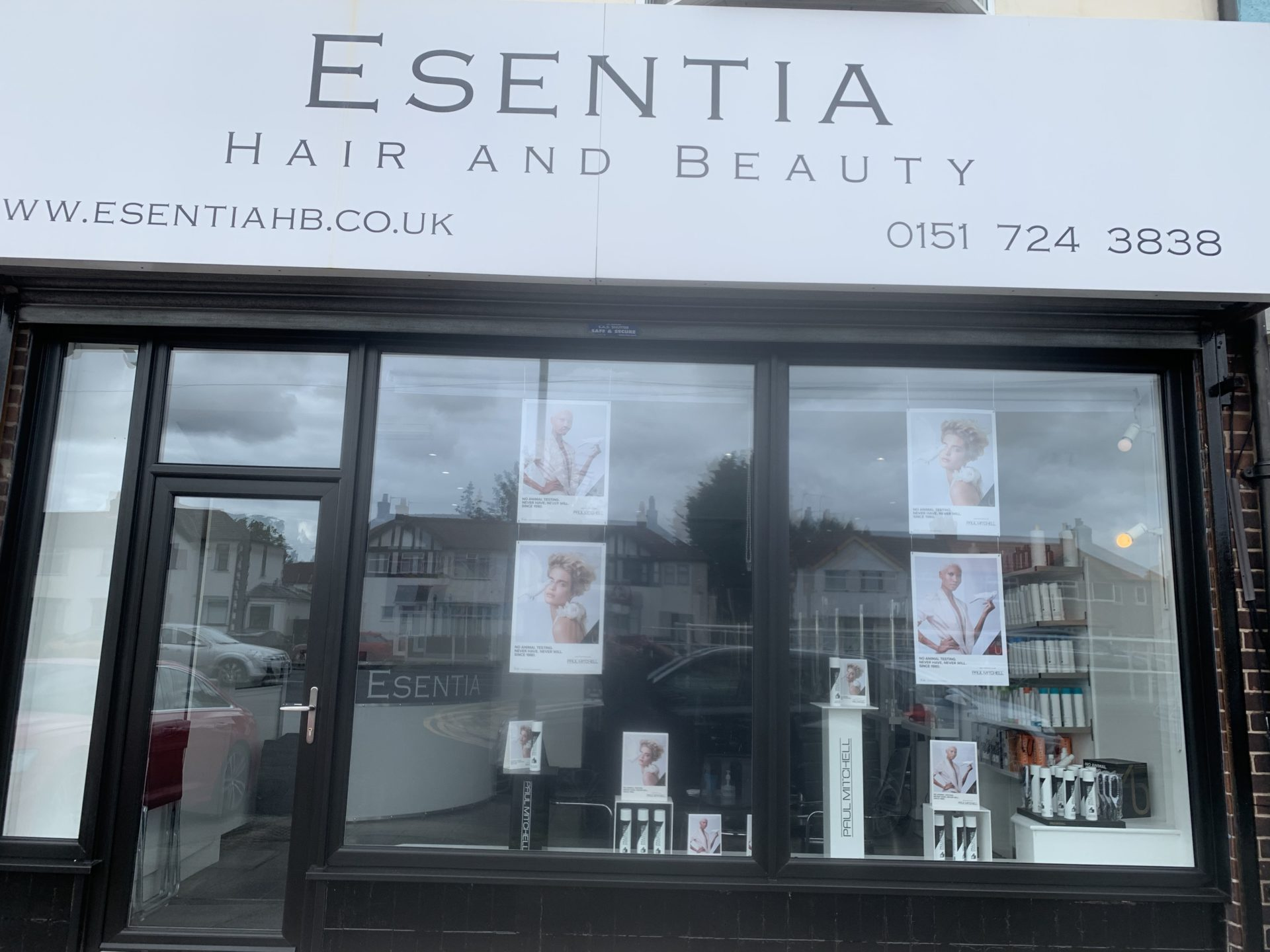 top hairdressers in Mossley Hill Liverpool Esentia Hair Beauty Salon
